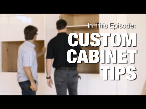 Custom Cabinets - What makes a Good Cabinet?
