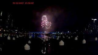 Melbourne Docklands 2015/16 Fireworks