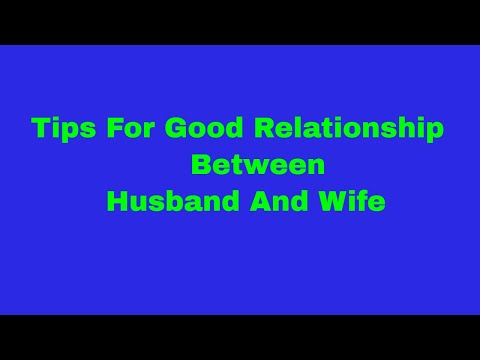 How to be a good life partner