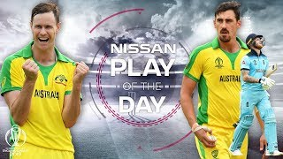 Nissan Play of the Day | Australia vs England | ICC Cricket World Cup 2019