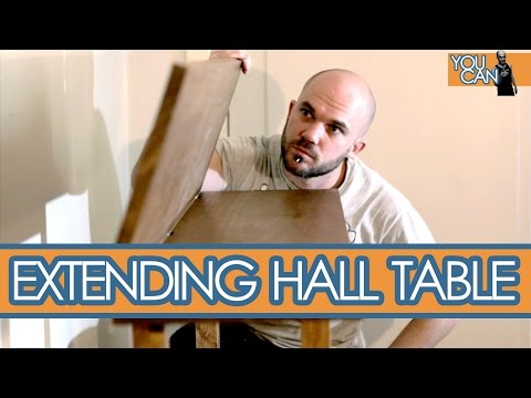 How To Make An Extendable Side Table | You Can