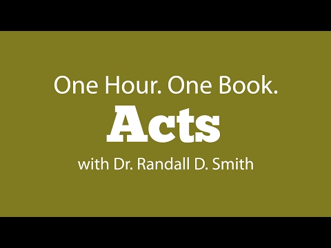 One Hour. One Book: Acts