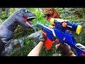 Nerf War Jurassic Park Dinosaur Battle mp3