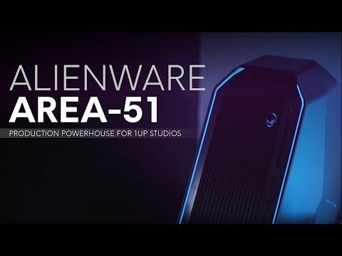 Alienware Area-51: Production Powerhouse for 1UP Studios