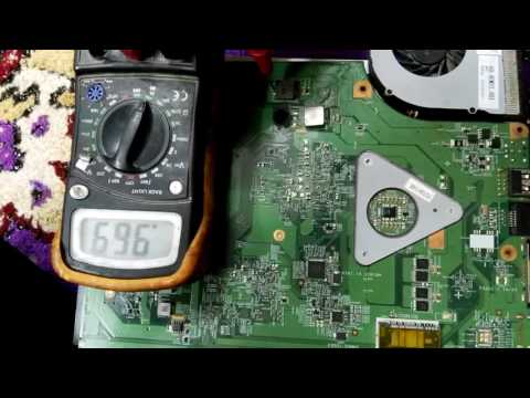 how to find short circuit in laptop motherboard