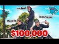 Lachy Lazarbeam Muselk Play Mr Beast 100000 Battle Royale
