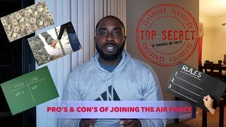 Pro's & Con's of Joining The Air Force | Watch Before Joining!!