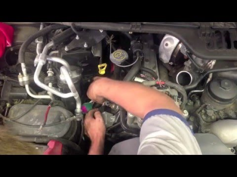 Glow plug removal on a 6.0 Ford powerstroke Diesel