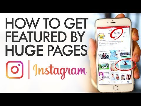 How to Get Featured on Huge Instagram Pages