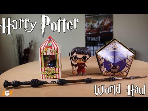 Harry Potter World Haul - Elder Wand/Pop Vinyl/Chocolate Frog/Bertie Botts Beans Unboxing