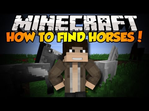 Minecraft: How To Find Horses In Minecraft
