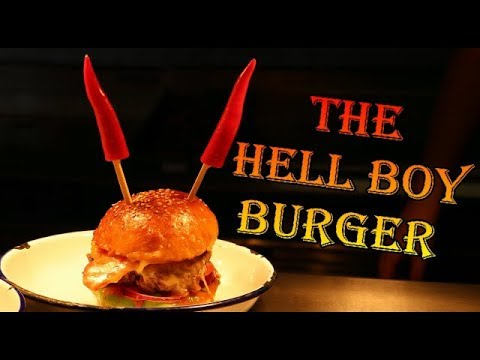 The Hell Boy Chilli Burger