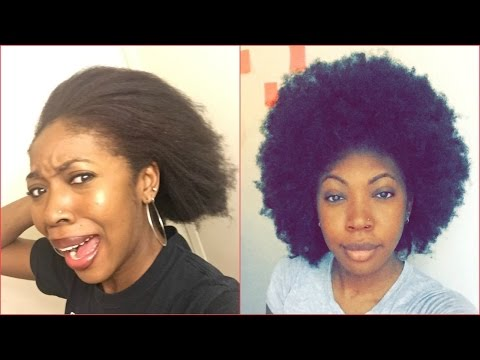 HOW MY NATURAL HAIR GREW 3 INCHES IN 3 MONTHS AFTER DAMAGE