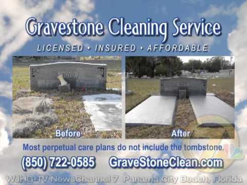 Gravestone Cleaning Service -