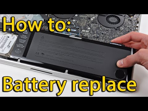 How to battery replacement Asus N550 laptop