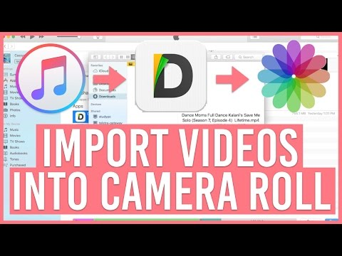 How To Put A Video into Camera Roll