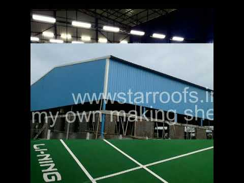 Starroofs Chennai 9841185876 indoor badminton court
