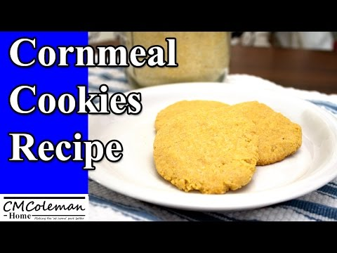 Cornmeal Cookie Recipe