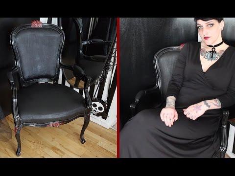 DIY Gothic Throne Transformation