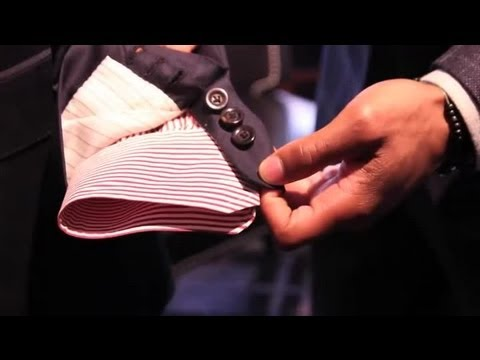 What Is the Function of Button Cuffs on a Suit Jacket? : Men's Suits