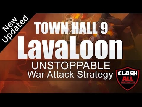 TH9 LavaLoon UNSTOPPABLE War Attack Strategy | Town Hall 9 LavaLoon Strategy | Clash of Clans