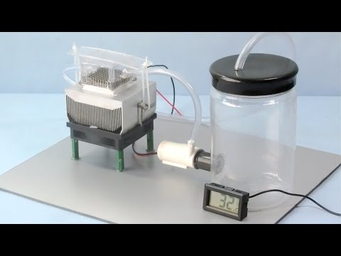 How to Make a Mini Water Cooler at home