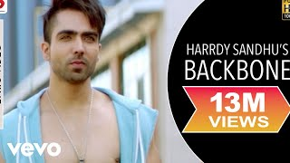 Harrdy Sandhu - Backbone |Jaani | B Praak | Lyrics Video