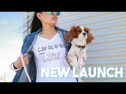CAVOLOGY LAUNCH | Dog Lovers Women Apparel | I love my dogs