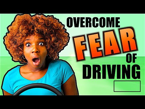 How to OVERCOME fear of DRIVING (2 Minute Tip)