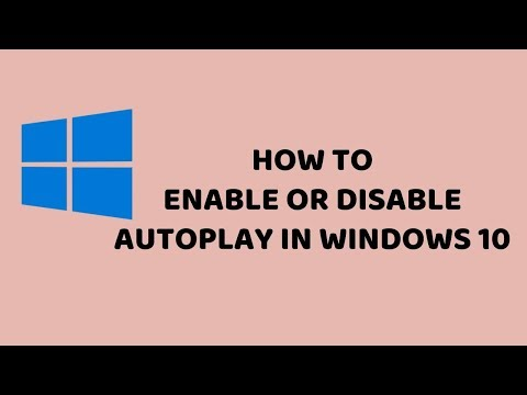 How to Enable or Disable Autoplay in Windows 10 | Easy Tutorials in Hindi