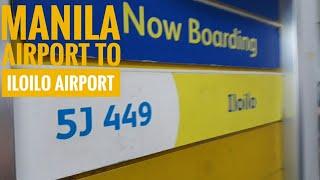 MANILA AIRPORT TO ILOILO AIRPORT 2019