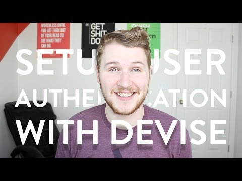 006: Setup User Authentication with Devise