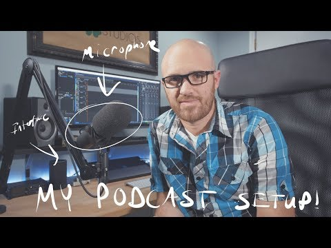How to record a Podcast - My studio setup
