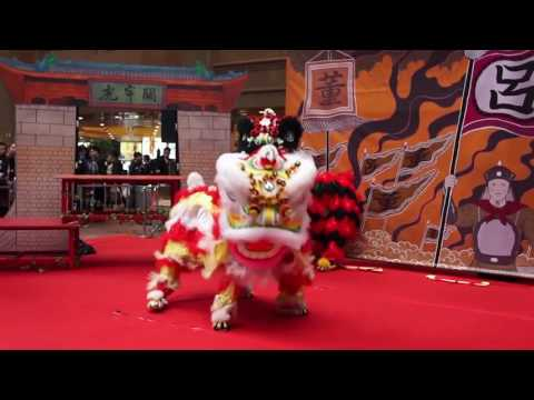 2015 Chinese Lion Dance Exhibition, Times Square, HK 時代廣場「一代醒獅」展覽