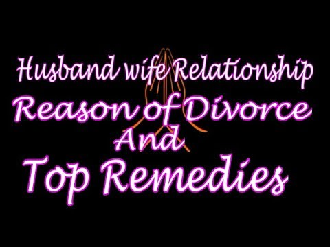Divorce#Reason of Divorce#Marriage#Delay#Disputes#Sign of Divorce in Astrology