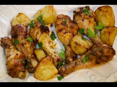 Cajun Roasted Chicken and Potatoes - Cooked by Julie Episode 214
