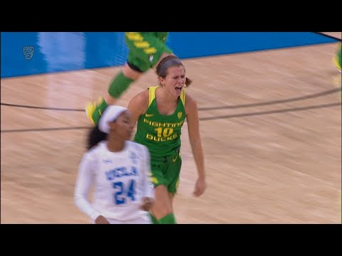 Recap: No. 9 Oregon women's basketball beats No. 14 UCLA to remain perfect in conference play