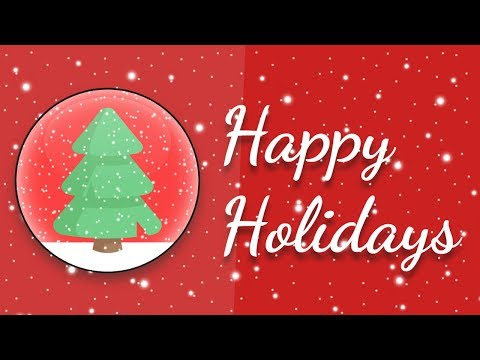 Snow Falling Christmas Animation Effects using Html and CSS   Happy Holidays