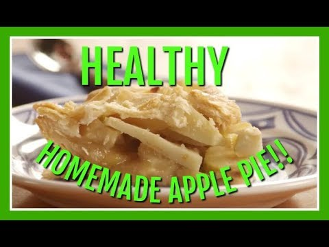 Healthy Homemade Apple Pie From Scratch |Low Calorie and Easy to Make|