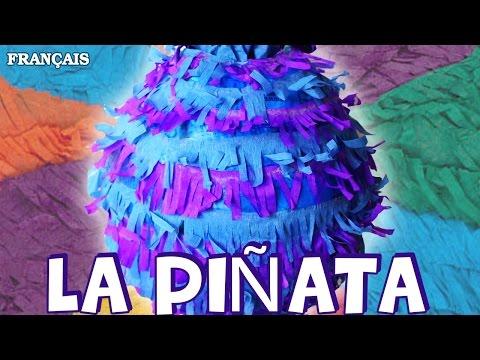 Comment Faire La Piñata   How to Make a Piñata   DIY French Arts & Crafts
