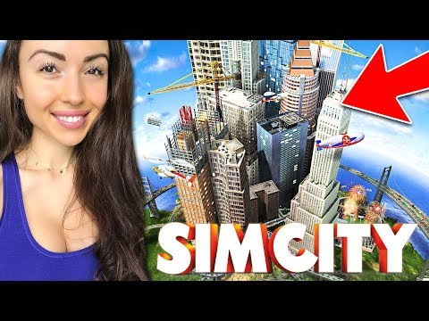 NEW CITY w/ UNLIMITED MONEY!! (SimCity)