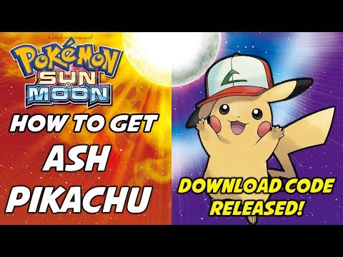 Ash Pikachu Code Released! How to Download Ash Pikachu in Pokemon Sun and Moon