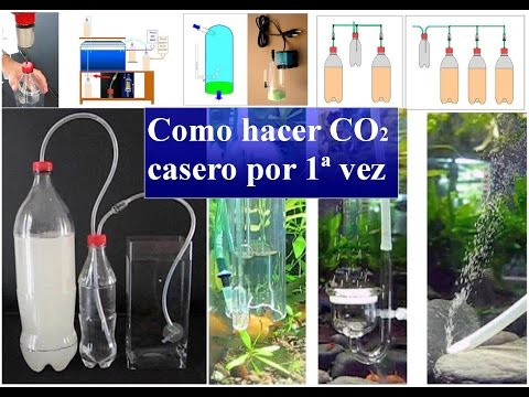 Como hacer CO2 casero por 1ª vez