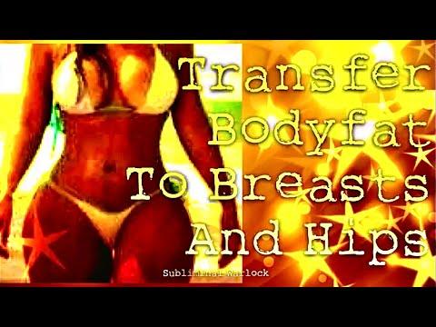 Transfer Body fat to Breasts and Hips! Subliminal Binaural Beats Hypnosis Biokinesis Potion