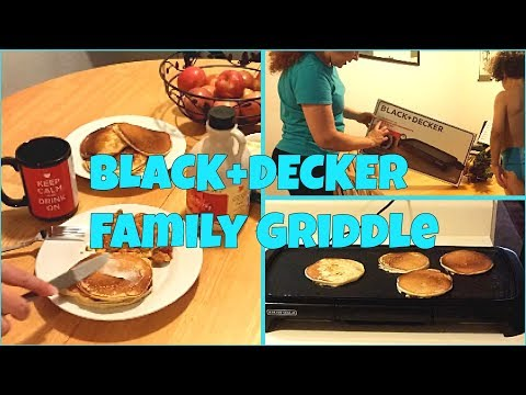 BLACK+DECKER Family Size Non-Stick Griddle Unboxing and Review