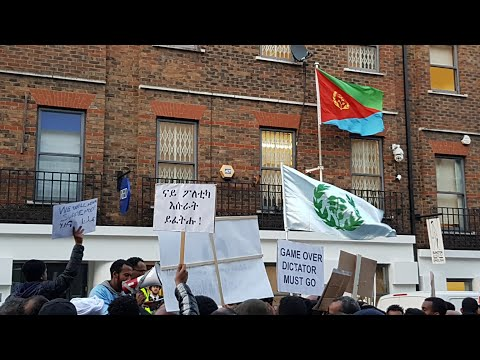 Eritreans Protest Over State Crackdown in London