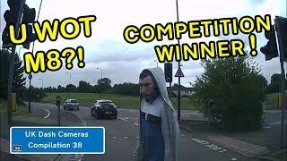 UK Dash Cameras - Compilation 38 - Bad Drivers, Crashes + Close Calls