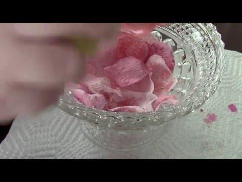 DYI Laduree inspired rose petal blush using rosewater