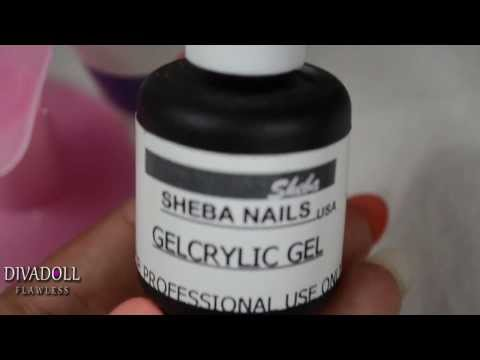 Tutorial: How to fill in gel nails at home (Sheba Nails GelCrylic System)