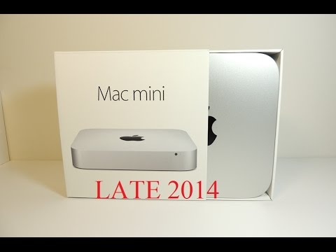 NEW Mac Mini Late 2014 Unboxing - Can You Upgraded Ram Info